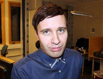Redaktør Arne Reginiussen i Finnmark Dagblad