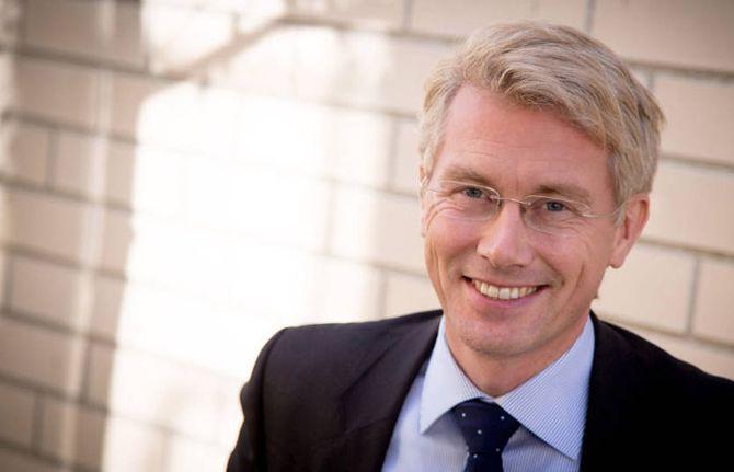 TV2-SJEFEN: Olav T. Sandnes, administrerende direktør og sjefredaktør i TV 2.