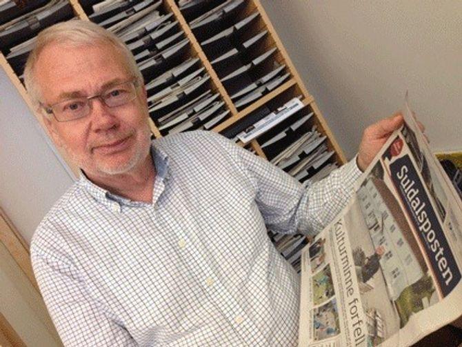 Avisforsker Sigurd Høst. (Foto: Geir K. Hus, LLA)