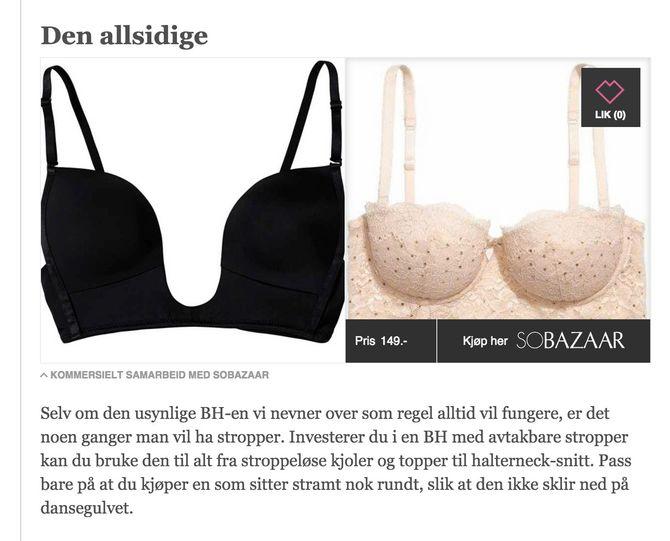 MINMOTE.NO: Slik kobles journalistikk til kjøp på VGs seksjon MinMote.no.