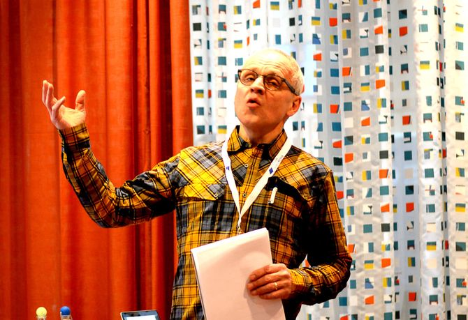 OPP: Journalist Morgan Frelsøy.
