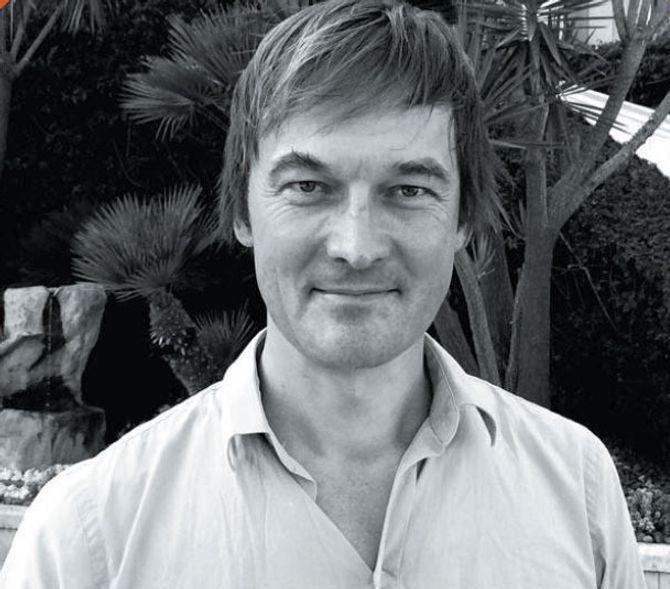 JAN THORESEN kommer hjem for å snakke om digital kvalitet. (Foto: Gyldendal)