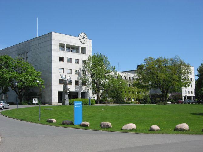 MARIENLYST - NRKs hovedkontor. (Foto: Wikimedia Commons)