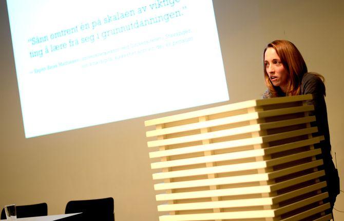 «KRYPTOHIPSTER»: Det kalte Dagens Næringsliv henne for, Runa Sandvik. Torsdag strammet hun opp norske medier på digitalt kildevern.