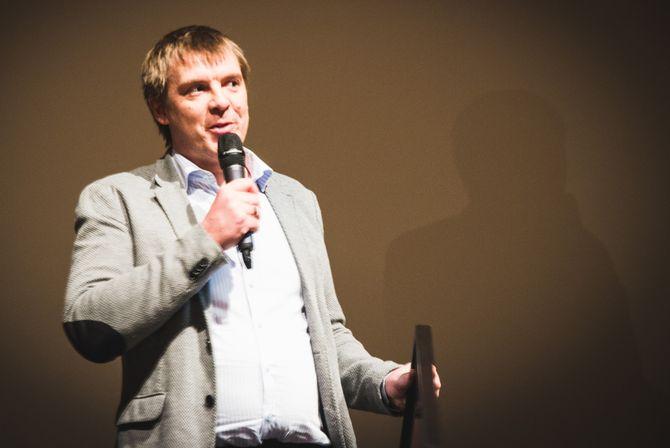 VG og Dan Kåre Engebretsen fikk NODA-pris for beste historie. (Foto: Ingrid Tinmannsvik)