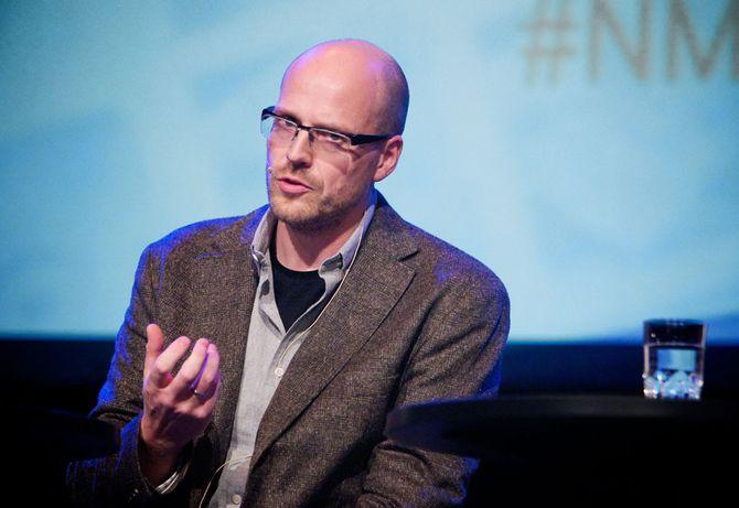 PÅL NEDREGOTTEN, innovasjonsdirektør i Amedia. (Foto: Nordiske Mediedager)
