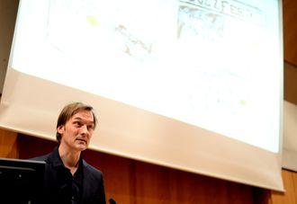 Jan Thoresen på NONAs debattmøte vinteren 2015.