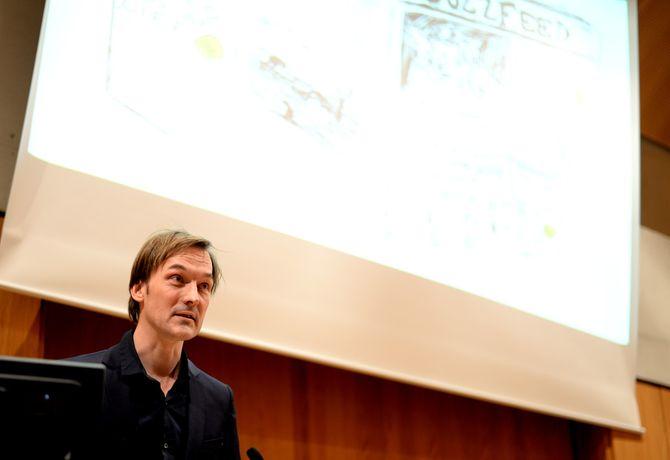 Jan Thoresen på NONAs debattmøte i vinter.