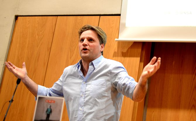 Nicolai Thyssen, redaktør i Information.