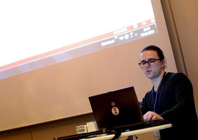 Journalist og innsynsekspert Vegard Venli i Kommunal Rapport. (Arkivfoto: Gard L. Michalsen)