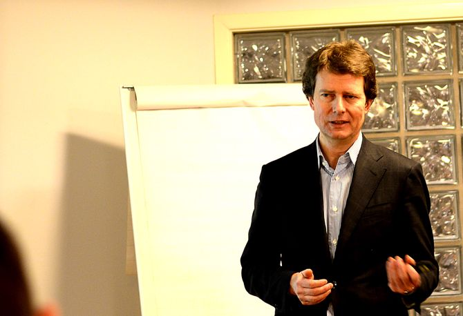 SIER NEI: Konsernsjef Per Axel Koch har sagt nei til lønnsvekst og mer bonus.