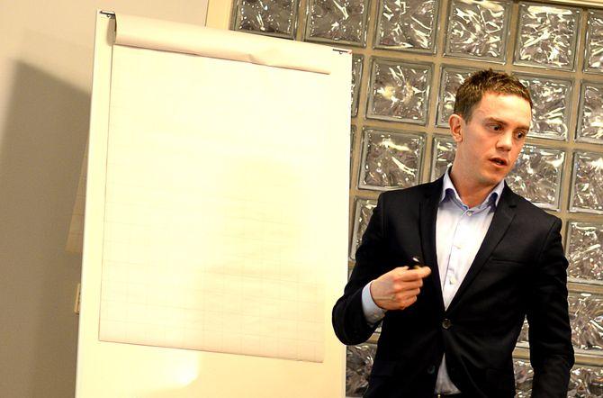 CFO: Økonomidirektør Per Olav Monseth i Polaris Media ASA.