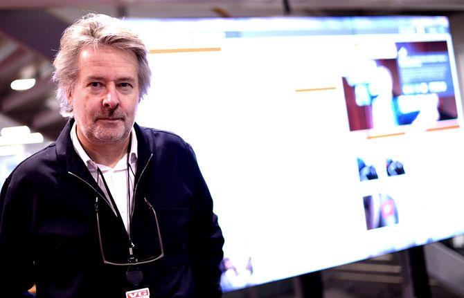 VG-sjef Torry Pedersen. (Arkivfoto)