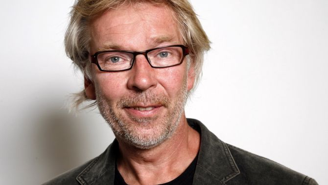 Redaktør Bjarne Tormodsgard i Hallingdølen.