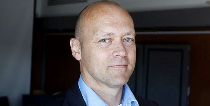 HARALD JACOBSEN,konserndirektør for trykk og distribusjon i Schibsted Norge.