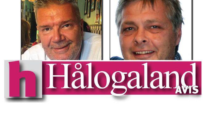 DRIVER VIDERE: Trond Bendiktsen og redaktør Inge Bjørn Hansen.