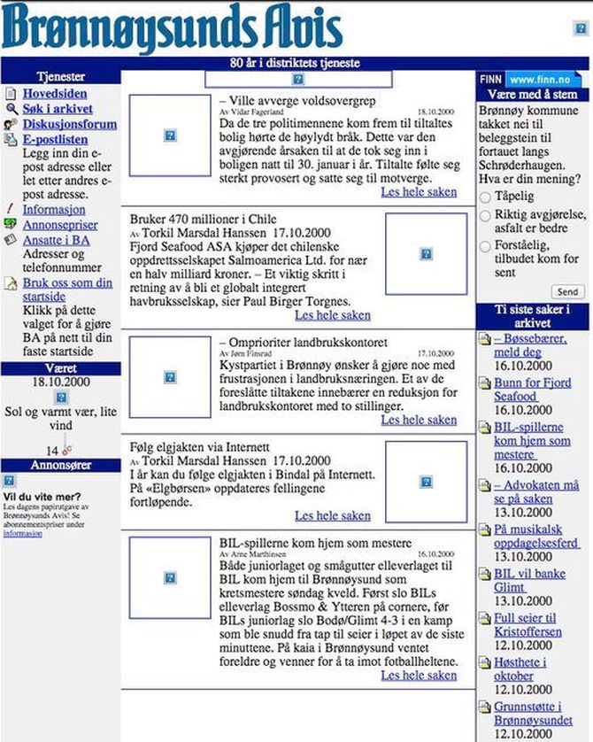 BAnett i år 2000.