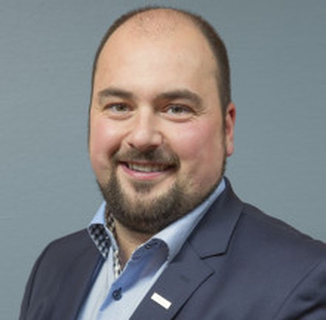 Pressekontakt Lasse André Vangstein (Foto: Oslo Lufthavn).