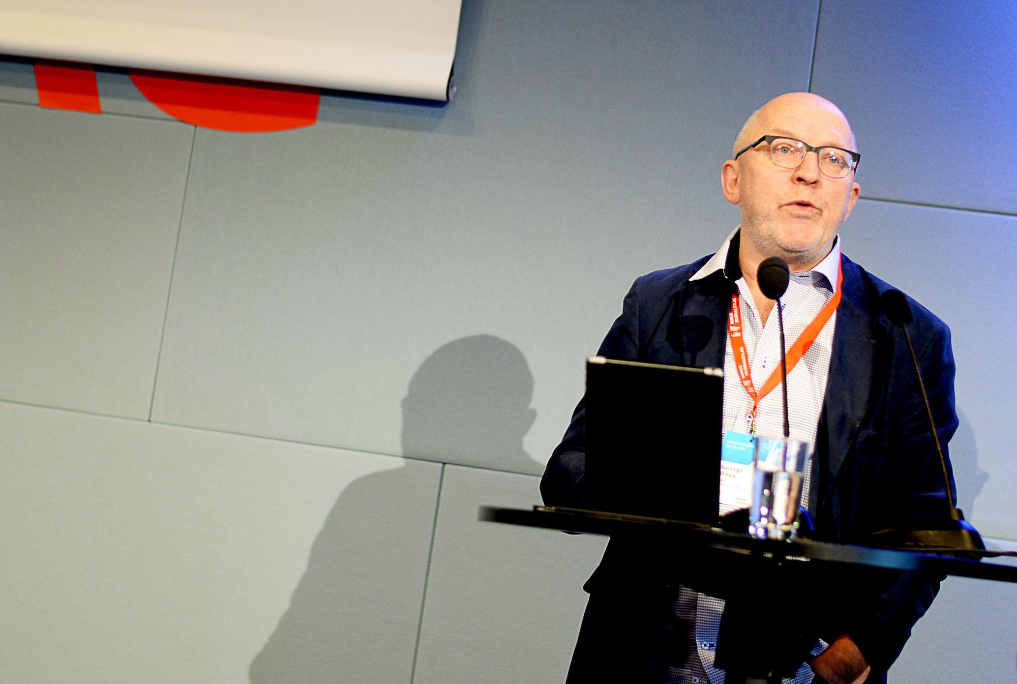 Sven Egil Omdal, mediekritiker og kommentator.