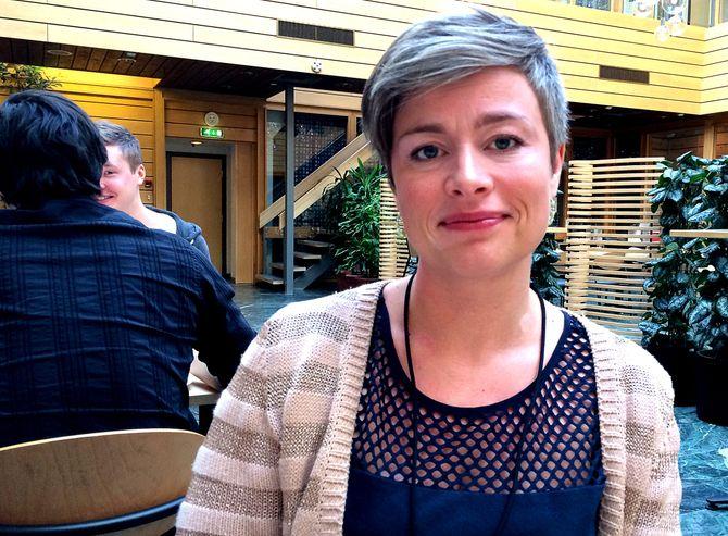 KLUBBLEDER Kjersti Fikse Ness i Adresseavisen. (Foto: Privat)