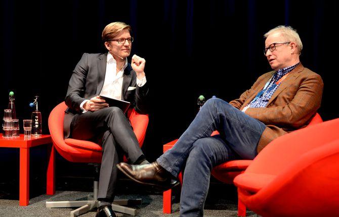 med Svein Tore Bergestuen på SKUP-konferansen går bra. Her fra 2015.