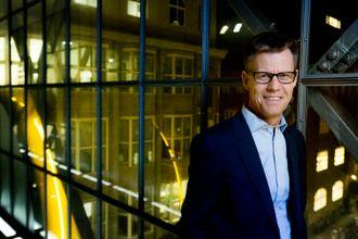 Konsernsjef for det danske Egmont-konsernet, Steffen Kragh.