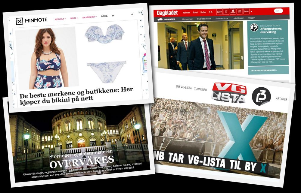 NRK, Aftenposten, VG og Dagbladet blant de nominerte til European Digital Media Awards