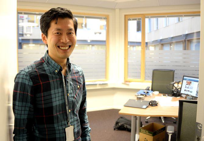 KONTOR: Slik ser kontorlokalet til enerWE ut - på Filipstad Brygge i Oslo.