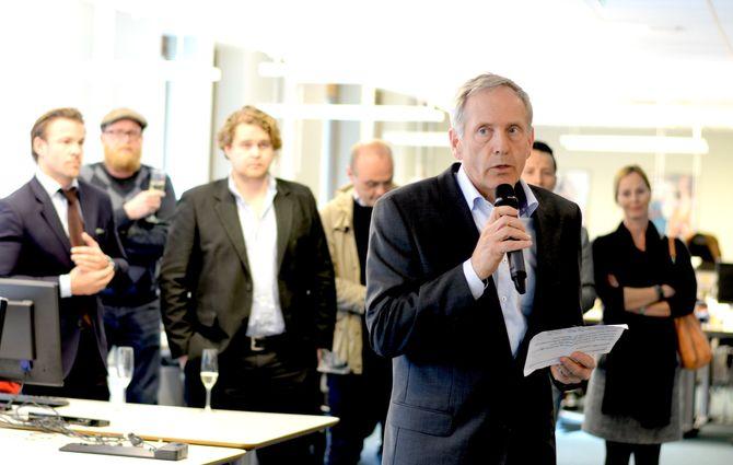 STYRELEDER Stig W. Seljeseth i Mediehuset Nettavisen AS.
