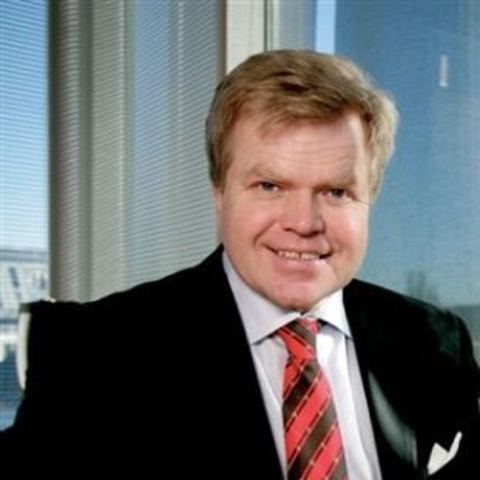 Gunnar Bjørkavåg, konsernsjef i NHST Media Group.