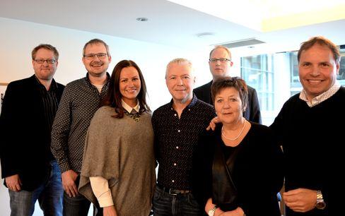 LLA-STYRET: Øystein Øygarden, Roar Osmundsen, Hilde Dypaune, Edd Meby, Tomas Bruvik, Asta Brimi og Holger Austvoll.