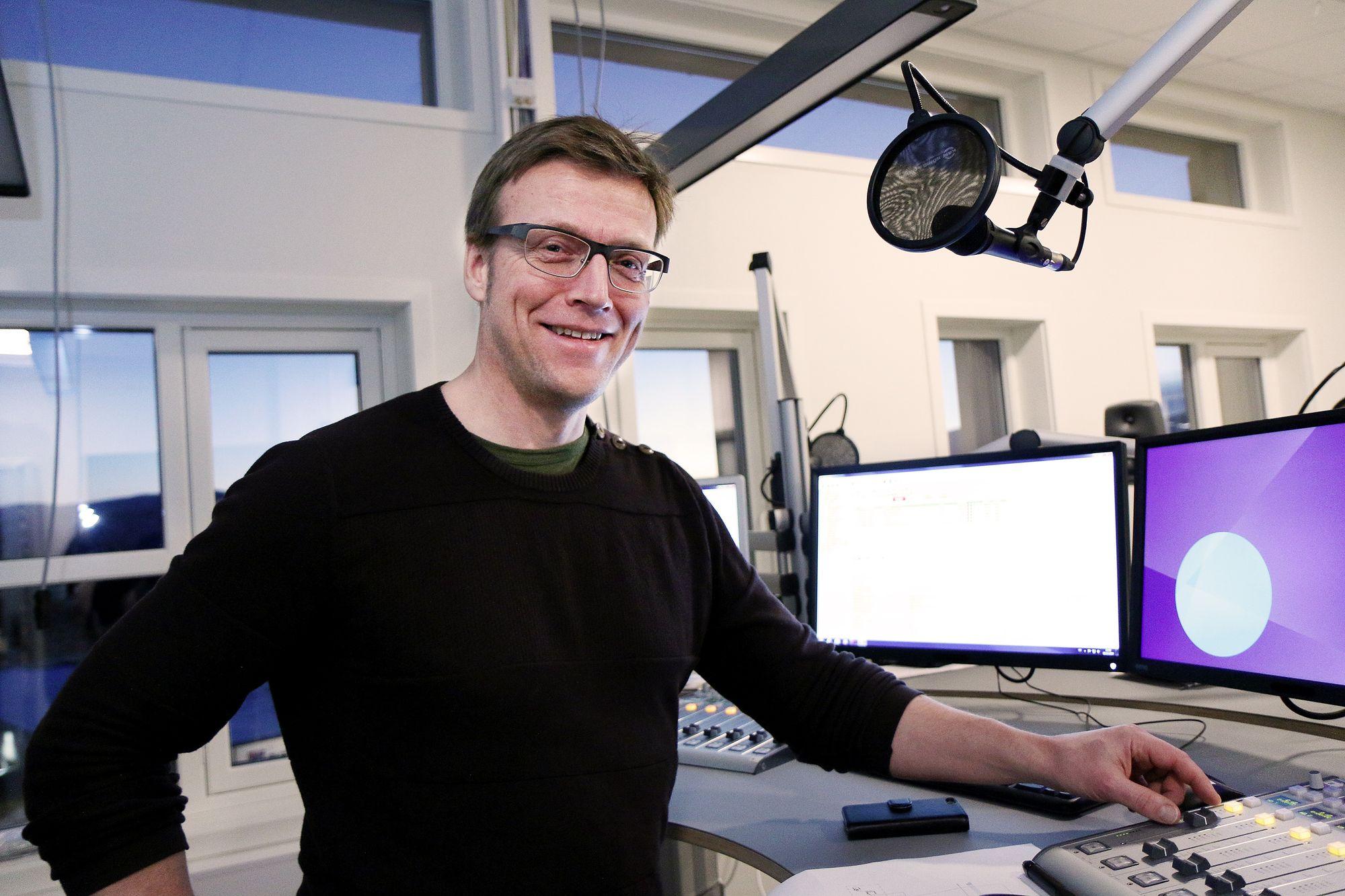 Distriktsredaktør Morten Ruud i NRK Finnmark.