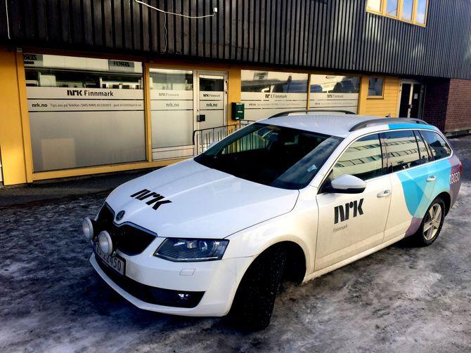 NRKs lokalkontor i Kirkenes (Foto: NRK).