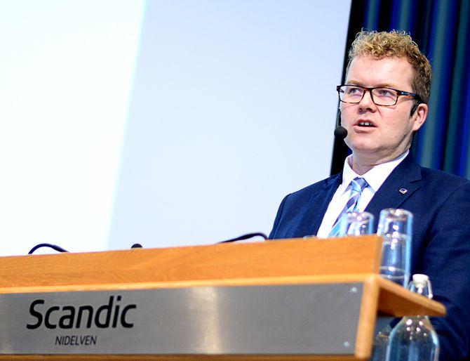 STATSSEKRETÆR Bjørgulv Vinje Borgundvaag (H) i Kulturdepartementet.