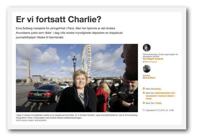 KRONIKK på NRK Ytring fra NOAS og en av fikserens to advokater.