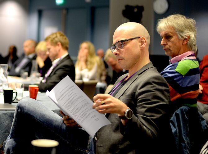 TAR GJERNE OPPDRAGET: Anders Opdahl, sjefredaktør i Nordlys.