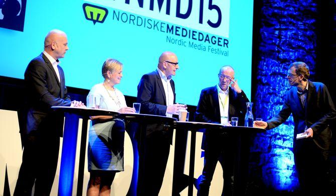 Debatten ble ledet at DNs politiske redaktør Kjetil B. Alstadheim.