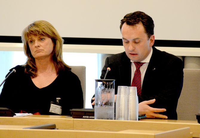 OSLO KOMMUNE - ved kommuneadvokat Hanne Harlem og byrådsleder Stian Berger Røsland.