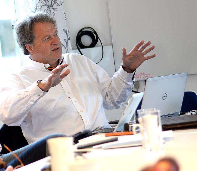 TU-sjef og Fagpressens styreleder, Jan Moberg.