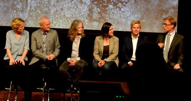 NRK-korrespondenter på Urix-kveld med NRK høsten 2015. (Foto: Sunniva K. Bornøy)