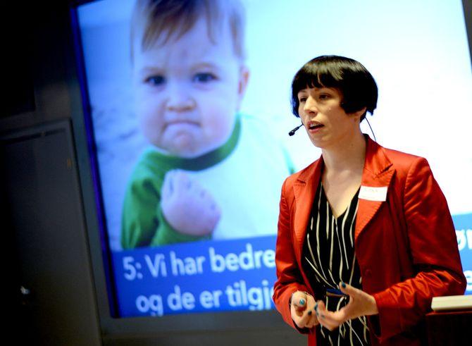 INGEBORG VOLAN på Netthode-konferansen NONA15.
