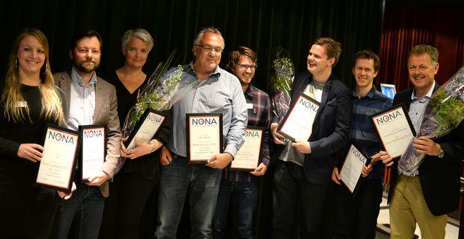 (Alle prisvinnere og mottakere av hederlig omtale i årets Netthode-priser)
