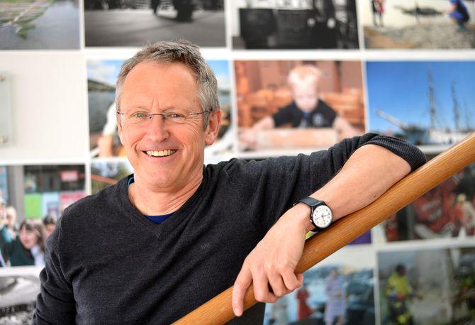 Ivar Myklebust Longvastøl, leder for Nynorsk Avissenter (Foto: Gard L. Michalsen).