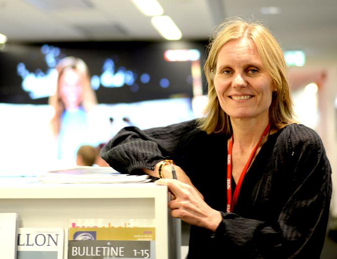 HELJE SOLBERG, direktør og redaktør i VGTV.