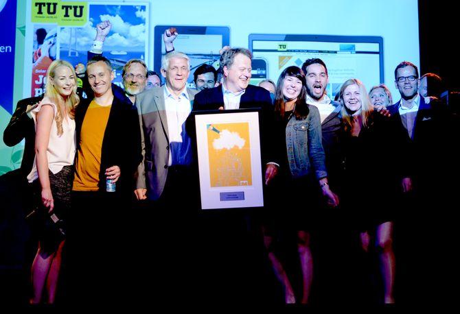 TEKNISK UKEBLAD fikk Fagpresseprisen 2015 torsdag kveld.
