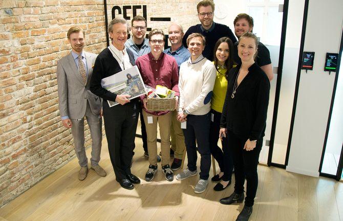 Noen av GKs ansatte og partnere i Norge. (Arkivfoto: Geelmuyden Kiese)