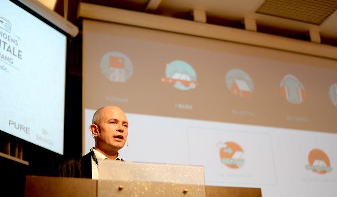 Ole Jørgen Torvmark, daglig leder, Digitalradio Norge (DRN)