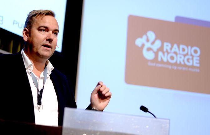 SBS Radio Norge-sjef Lasse Kokvik.