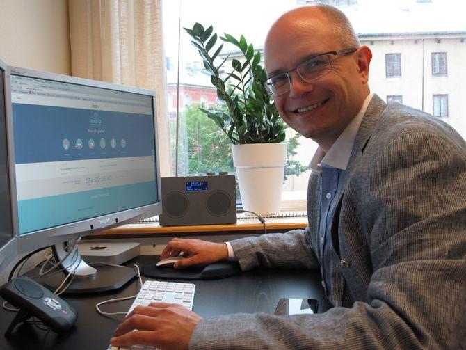 Ole Jørgen Torvmark, daglig leder i Digitalradio Norge.