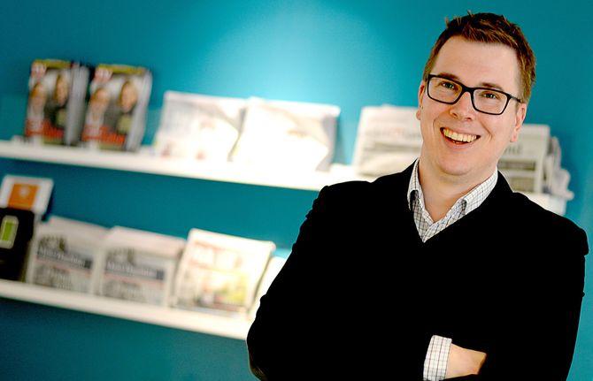EIRIK HOFF LYSHOLM, sjefredaktør og direktør for Dagsavisen, direktør for Rogalands Avis.
